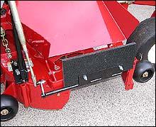 Chute Blocker, Blade Blocker BB-1 for Riding Mowers